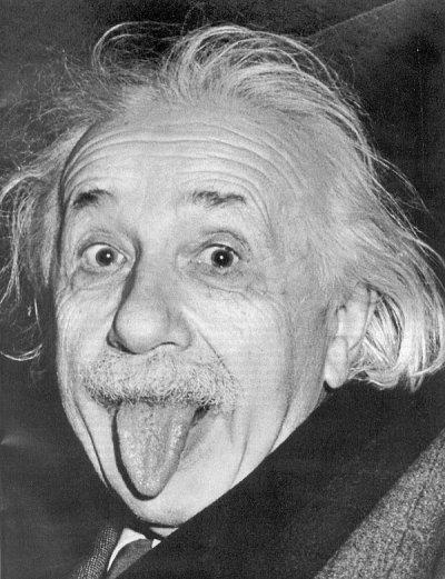 Albert Einsteins Zunge
