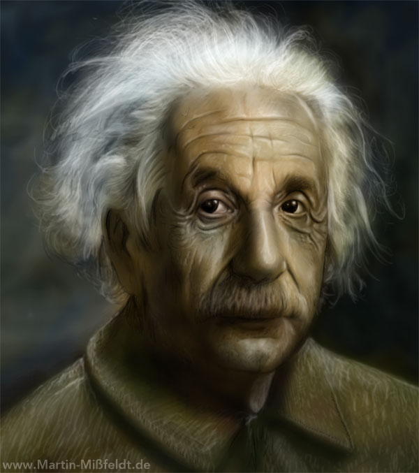 Albert Einstein - Portrait