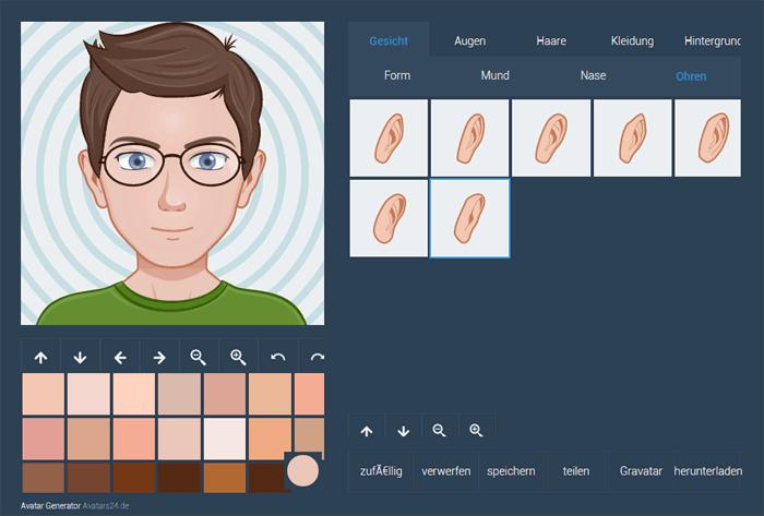 avatar selbst erstellen