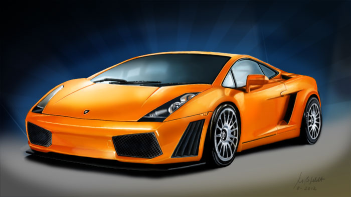 Kunstmalerei (Lamborghini)