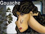 Gouache - Malerei-Tutorial