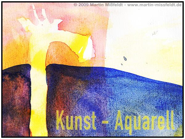 Aquarell - flüssige Farbe