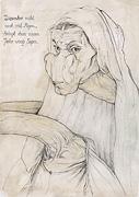 1: Albrecht Dürer seine Mutter-Giraffe