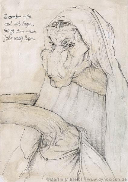 Albrecht Dürer seine Mutter-Giraffe