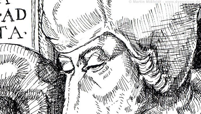 Die Humanisten-Augen des Erasmus von Rotterdam