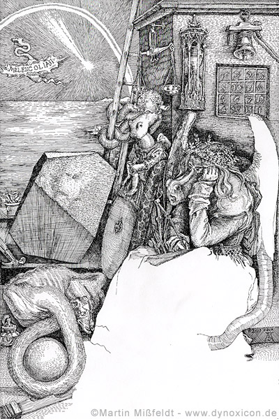 Martin Mißfeldt: Melencolia I nach Dürer