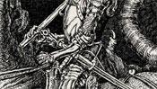 Die Rüstung des Ritters
