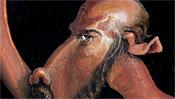 Der Kopf des Apostel Paulus