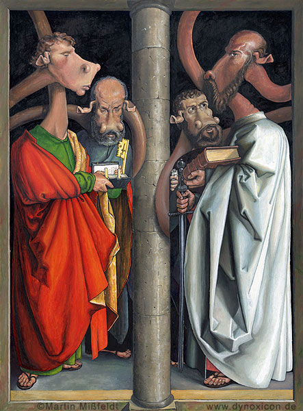 Die vier Apostel - Albrecht Dürer