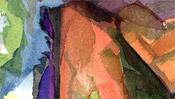 Lasierende Farbflächen