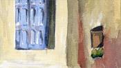 Fenster und Hausecke