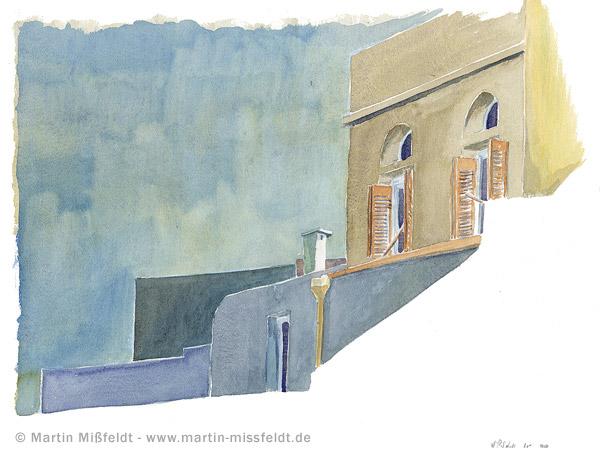 Wohntrakt im Kloster