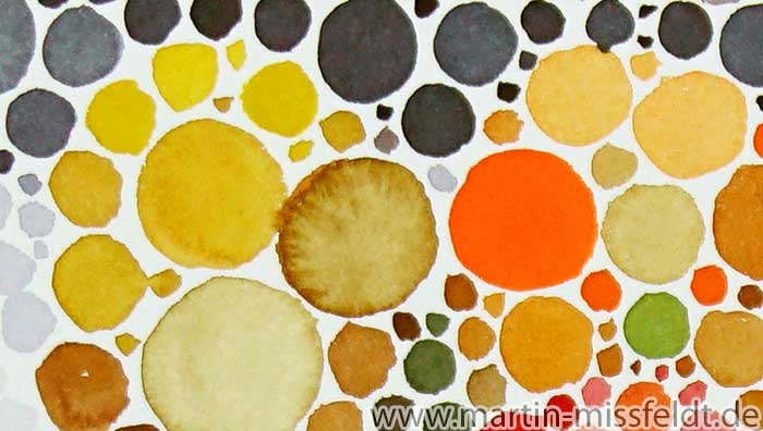 Fruehlingsstillleben (Farbsehtest) (Detail 1)