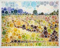 Landschaft Heuschober (Farbsehtest)