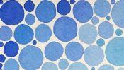Blaue Punkte (Schiffswracks Detail 1)