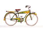 10: Denkmal für ein Fahrrad