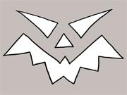 17: Halloween Kürbis Vorlage