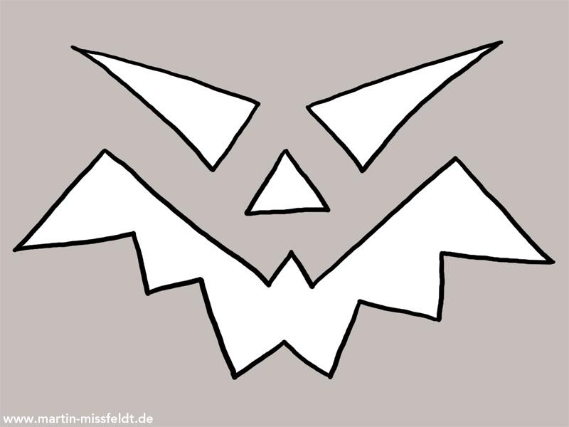 Halloween Kürbis Vorlage