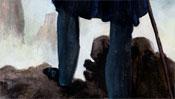 Die Beine des Wanderers