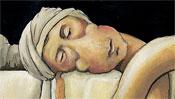 Der Kopf des toten Marat