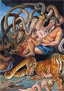 Erdteile Europa und Asien - Peter Paul Rubens