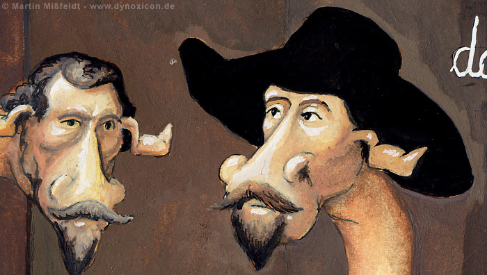 Die Doktor Tulp-Giraffe nach Rembrandt