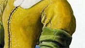 Das gelbe Hemd der Dienstmagd