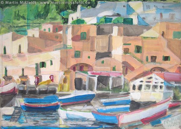 Insel Capri: Hafen
