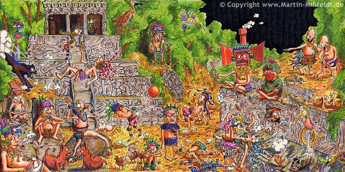 Hochkultur der Weltgeschichte: Die Azteken