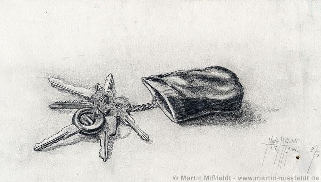 Schlüssel Zeichnung
