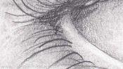 Auge Bleistiftzeichnen Lernen (Detail 4)