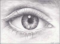 Auge: Bleistift Zeichnen Lernen