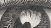 Auge Zeichnung (Detail 3)