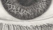 Auge Zeichnung (Detail 4)