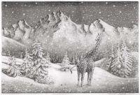 Bleistiftzeichnung: Sehnsucht (Kunst)