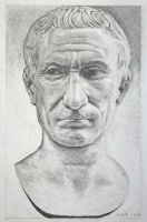 Julius Ceasar Bleistiftzeichnung