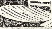 Gartentisch Zeichnung (Detail 5)