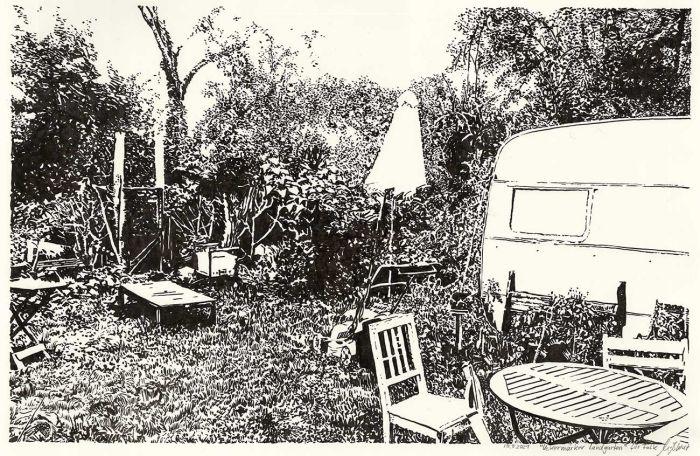 Uckermärker Landgarten (Zeichnung)