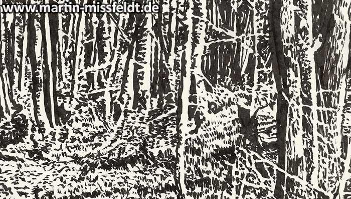 Wald bei Chorin II (Detail 1)