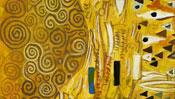 Goldene Muster und Zierat