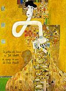 Adele Bloch-Bauer Giraffe nach Gustav Klimt