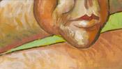 Mund, Kinn und Hals von Vincent van Gogh