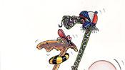 Don Quichote und Rosinante