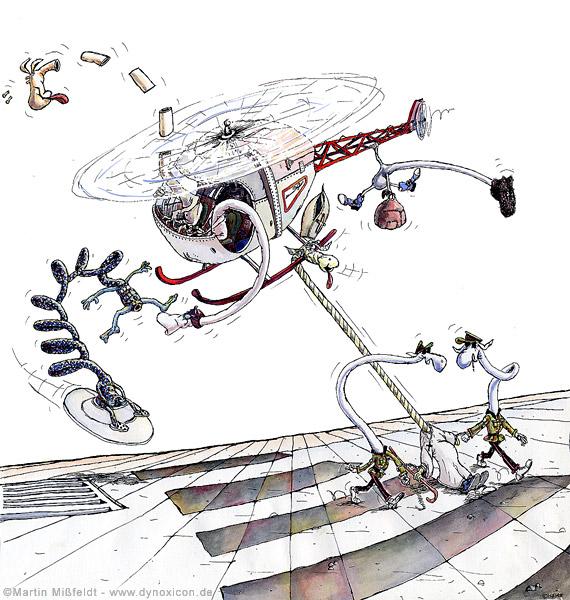 Hubschrauber Terror – Papst in Gefahr
