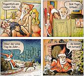 Weihnachtsmann futsch
