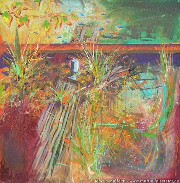 Malerei vom farbigen Grund