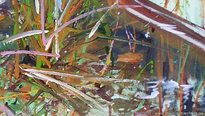 Gras Malerei