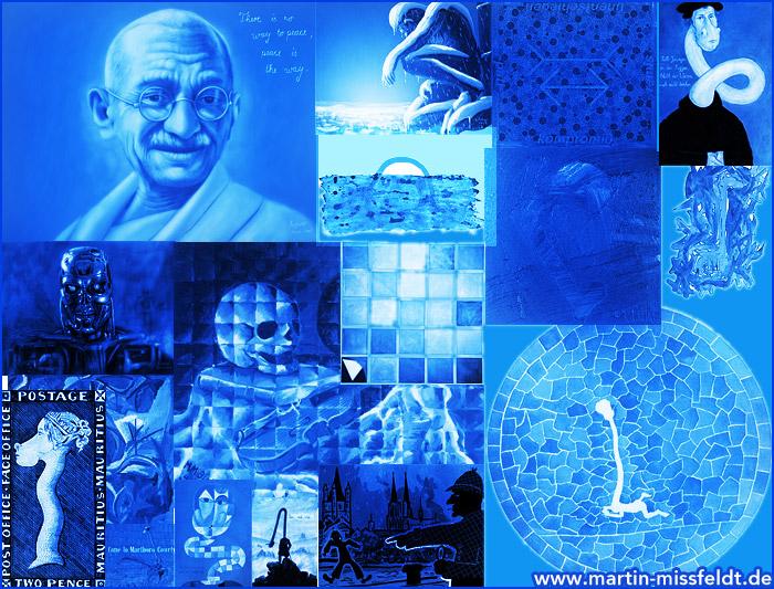 Blaubilder - Blaue Bilder