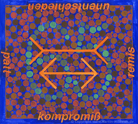 Farben-Sehen No 5 – remis