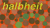 Halbheit - Begriff